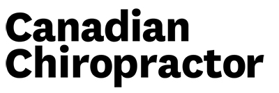 canadian chiropractor new logo